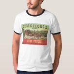 Orange Crate Art STAGECOACH Fine Fruits Oregon T-Shirt