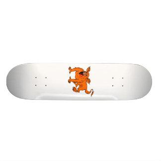 Orange Crawling Silly Dragon Skateboards