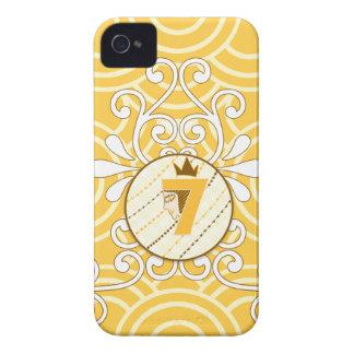 Orange Cream Circle Iphone 4/4s iPhone 4 Case