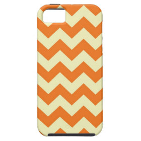 Orange Cream Citrus Chevron ZigZag Stripes Gifts iPhone 5 Covers