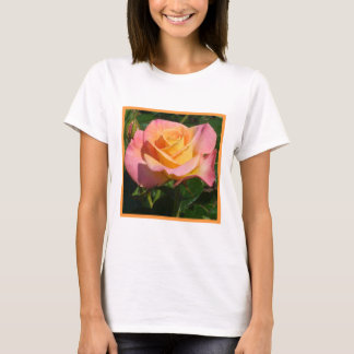 Orange Cream Rose T-Shirt
