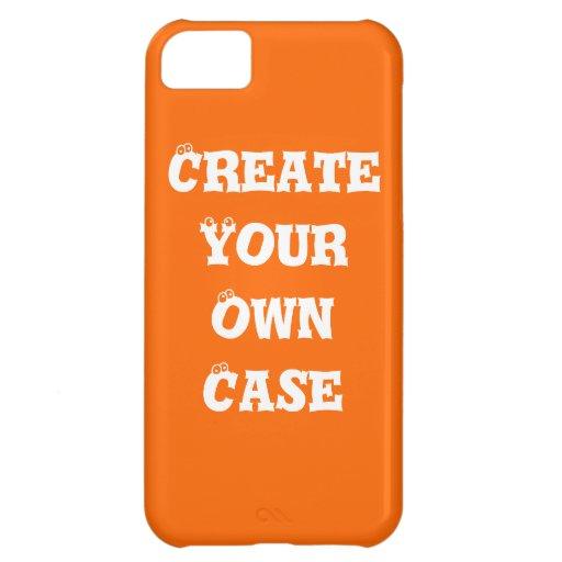 Orange Create Your Own Case Iphone 5c Cases Zazzle