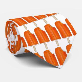 Orange Creme Creamsicle Ice Cream Popsicle Tie