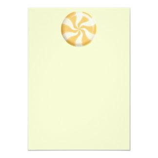 Orange Creme Scraplight Mint YELLOW SWIRL CANDY GR Card