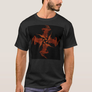 Orange Cross Flame T-Shirt