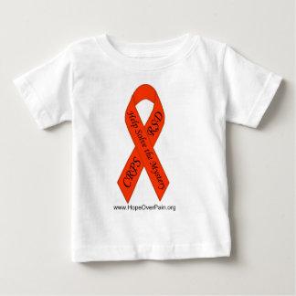 Orange CRPS/RSD Solve the Mystery Ribbon Infant TE Baby T-Shirt