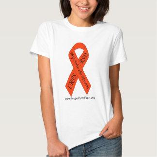 Orange CRPS/RSD Solve the Mystery Ribbon Lady-TEE T Shirt