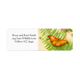 Orange Cruiser Butterfly Label