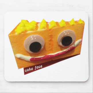 orange crush cake face with logo mouse pad