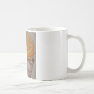 Orange Cupcake Coffee Mug