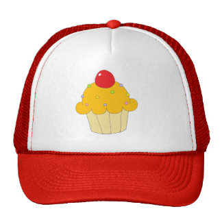 Orange Cupcake Trucker Hat