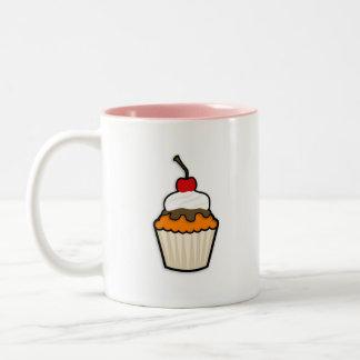 Orange Cupcake Mugs