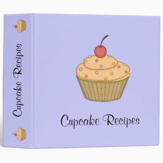 Orange Cupcake Recipe Binder
