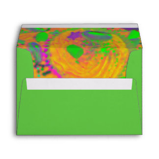 Orange Cupcakes envelope green