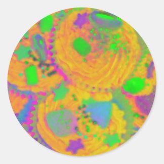 Orange Cupcakes sticker