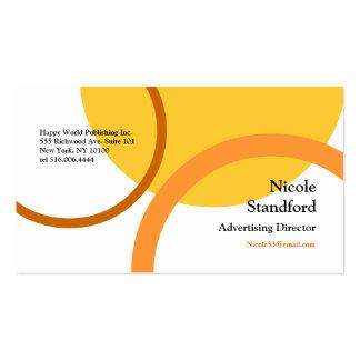 Orange Curve Business Card