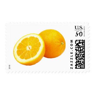 Orange Custom Medium Postage