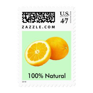 Orange Custom Small Postage