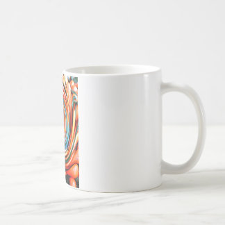 Orange Cyclone. Coffee Mug