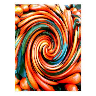Orange Cyclone. Postcard