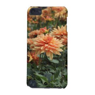 Orange Dahlia Blossoms iPod Touch 5G Cover