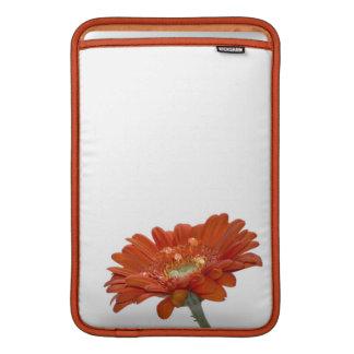 Orange Daisy Gerbera Flower Sleeve For MacBook Air