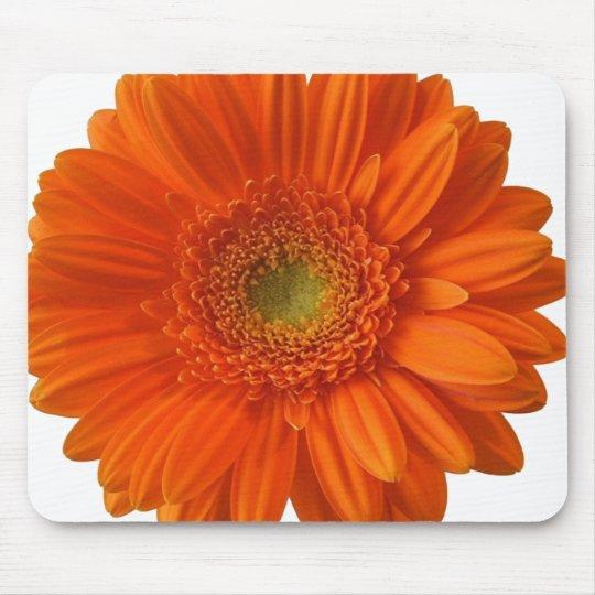 Orange Daisy Mouse Pad