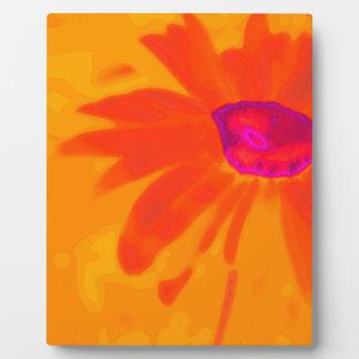 Orange Daisy Plaque
