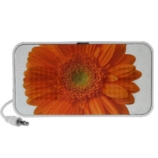 Orange Daisy Portable Speakers