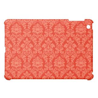 Orange Damask iPad Mini Cover