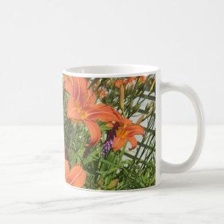 Orange Day Lilies at the Farm Coffee Mug
