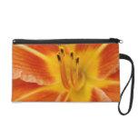 Orange Day lily Bagettes Bag Wristlets