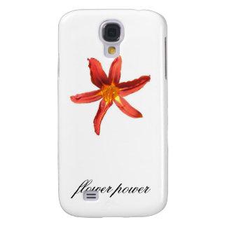 Orange Day Lily Samsung Galaxy S4 Case