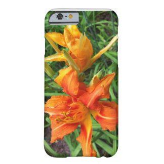 Orange Daylilies Barely There iPhone 6 Case