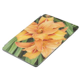 Orange Daylilies Floral iPad Air Cover