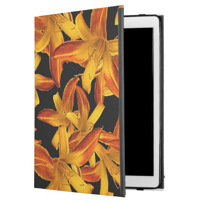 Orange Daylilies Flowers Floral iPad Pro Case