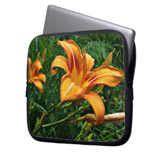 Orange Daylily Laptop Sleeve