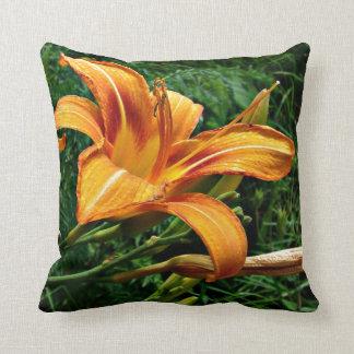 Orange Daylily Pillows