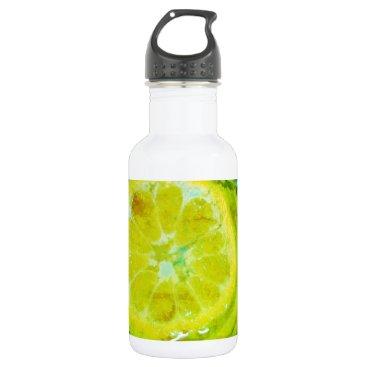 Beach Themed Orange Days Water Bottle
