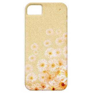 Orange Delicate Flower Iphone 5S Case