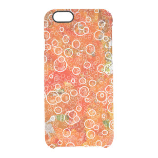 ORANGE DELIGHT CLEAR iPhone 6/6S CASE