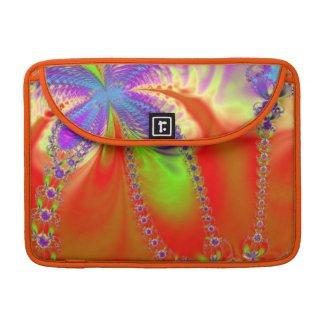Orange Delight Fractal MacBook Pro Sleeve