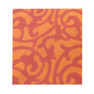 Orange Delight Memo Note Pads