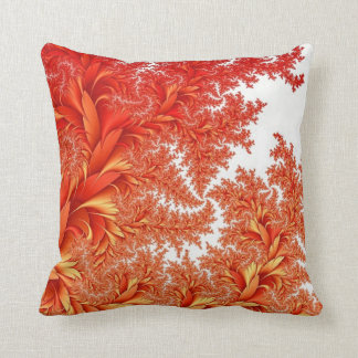 Orange Design Throw Pillow