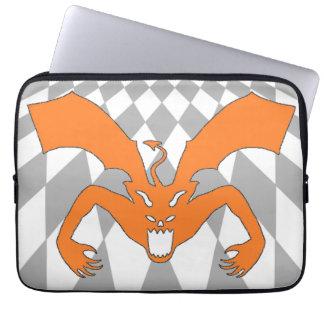 Orange Devil Laptop Sleeve