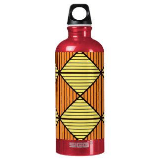 Orange diamond bottle