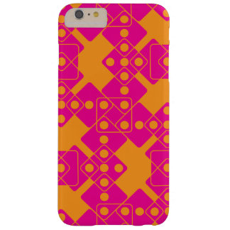 Orange Dice Barely There iPhone 6 Plus Case