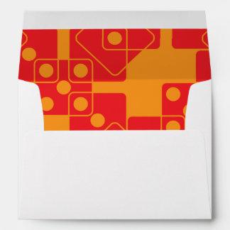 Orange Dice Envelope