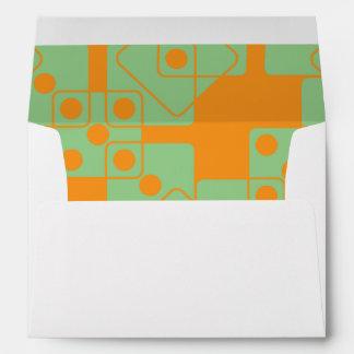 Orange Dice Envelopes