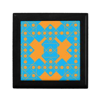 Orange Dice Jewelry Box